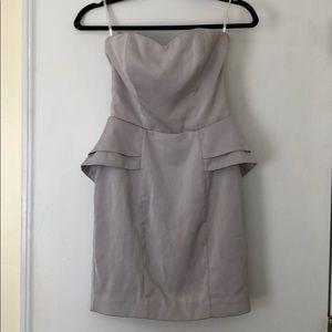 H&M Peplum Sleeveless Mini Cocktail Dress